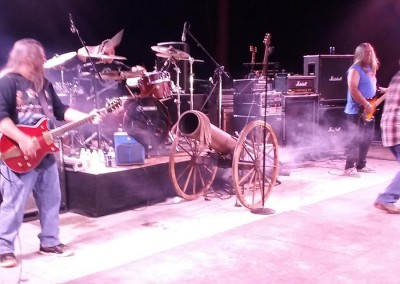 ACDC band tribute on stage